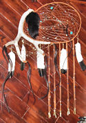 antler dream catcher