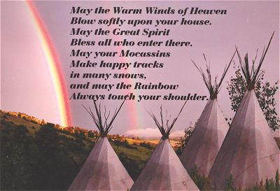 Buy Cherokee Blessing Prayer