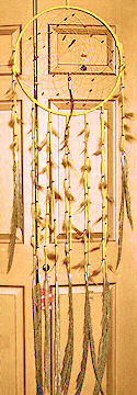 Delux 6ft Coral Dreamcatcher