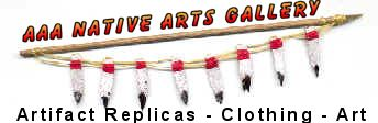 Shop for native american artifact replicas