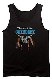 proud to be Cherokee tank top
