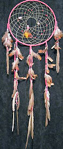 Pheasant and Crystal Dreamcatcher