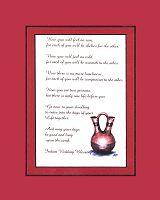 Cherokee Wedding Prayer , Wedding Vase Ceremony  Native American