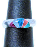 Rainbow Ring Built from Rock