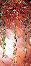 Spider Web Pattern Dreamcatcher