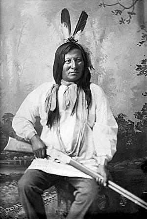 Sioux Warrior Rain-in-the-Face