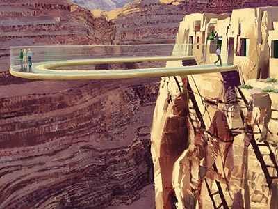 Sky Walk on Hualapai Indian Reservation