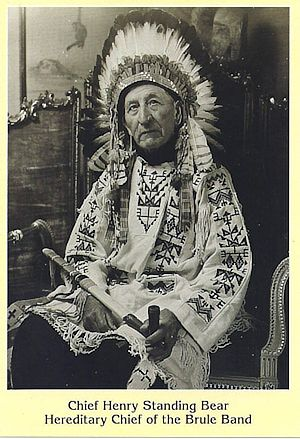 Chief Henry Standing Bear