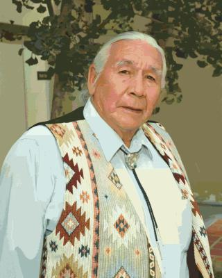 one of last pictures of Floyd Red Crow Westerman