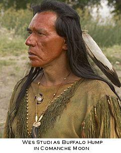 Wes Studi as Buffalo Hump in Comanche Moon