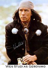 Wes Studi as Geronimo