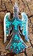 navajo chip inlay jewelry