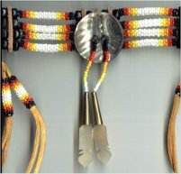 Sioux peyote stitch choker