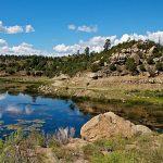 Dulce Lake on Jicarilla Apache Reservation