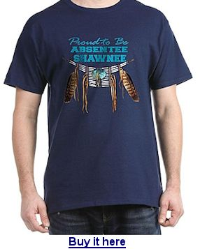 Buy Absentee Shawnee t-shirt here.