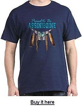 Buy an Assiniboine t-shirt