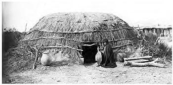 O 'Odham (Pima) brush wickiup