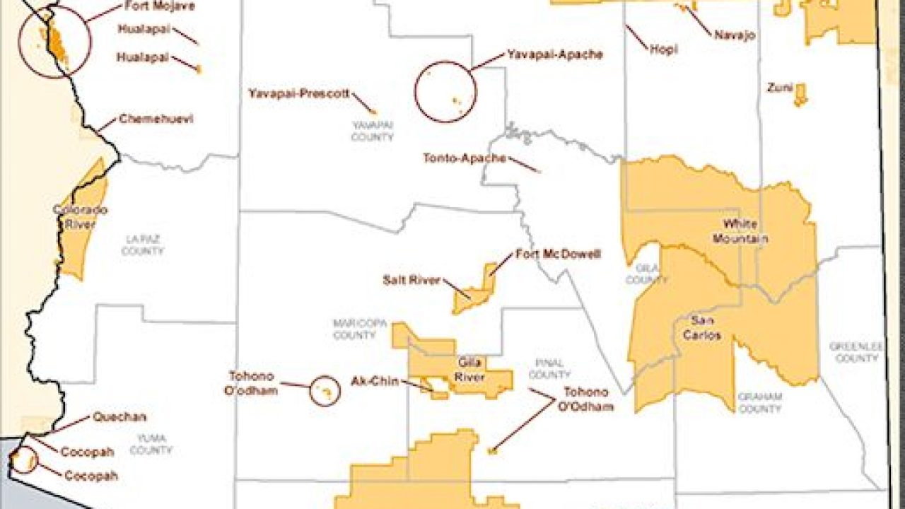 Arizona Indian Reservations