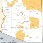 Arizona Indian Reservations Map