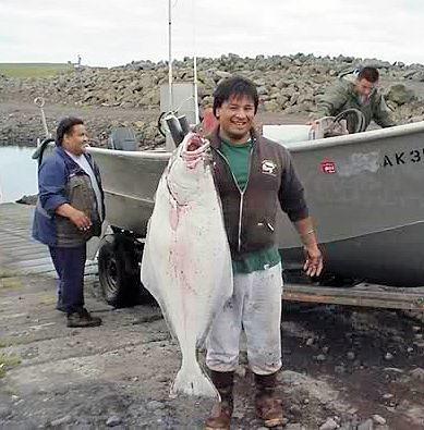 Alutiiq fishermen