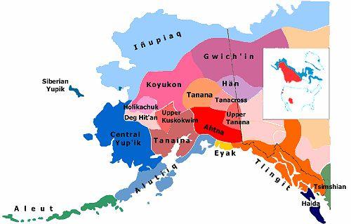 Alutiiq Map