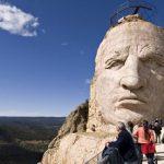 Crazy Horse memorial, South Dakota.