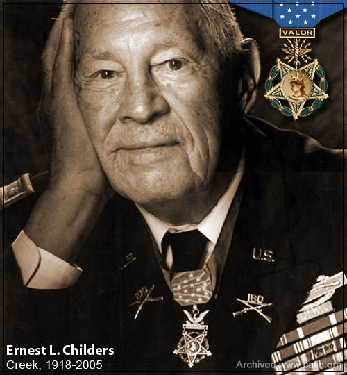 Ernest Childers, Medal of Honor Recipient