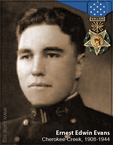 Ernest Edwin Evans, Medal of Honor Recipient