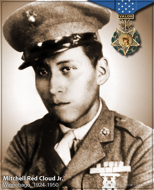 Mitchell Red Cloud, Medal of Honor Recipient