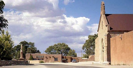 San Juan Pueblo in New Mexico