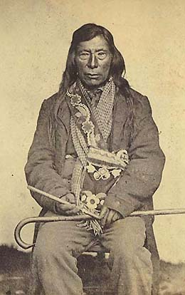 Nez Perce Chief Lawyer, 1861