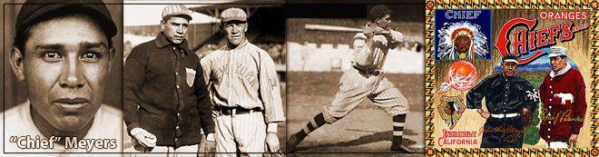 Chief John Meyers, famous native American baseball player