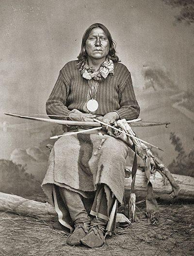 Portrait of Kiowa War Chief, Satanta
