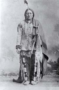 Chief Sitting Bull, sioux medicine man