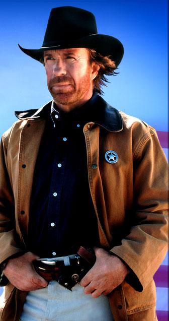 Chuck Norris in Texas Ranger