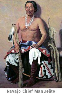 Navajo Chief Manuelito