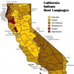 California Indian Languages Map