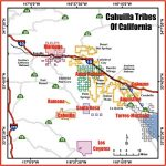 California Cahuilla Indian Reservations Map