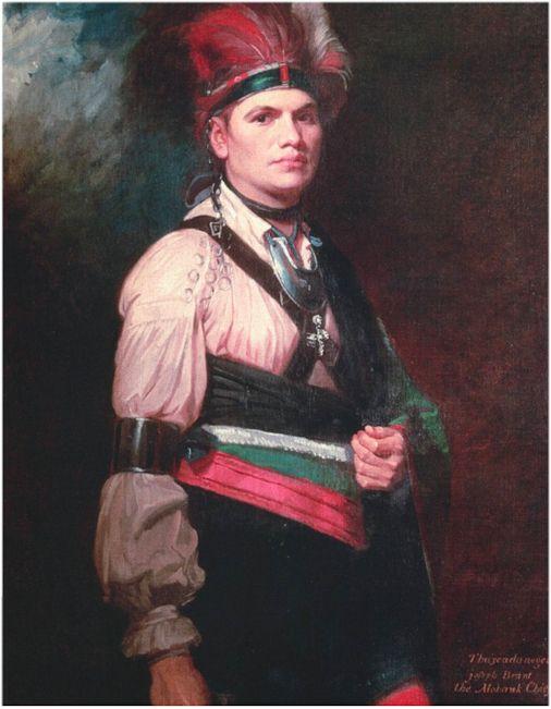 Joseph Brant, Mohawk Chief