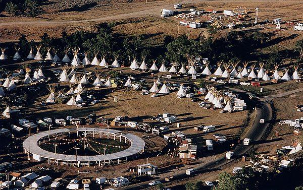 Crow Fair Tipi Encampment