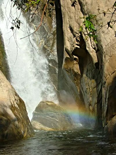 Tahquitz Waterfall, featured in Frank Capra's movie Lost Horizon