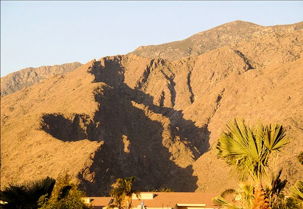 Shadow of the Witch  of Tahquitz Canyon