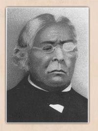 Blind Joe Amos, Wampanoag Baptist Minister