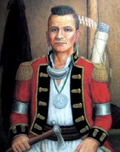 Shawnee Chief Blue Jacket