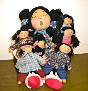 cloth storyteller doll