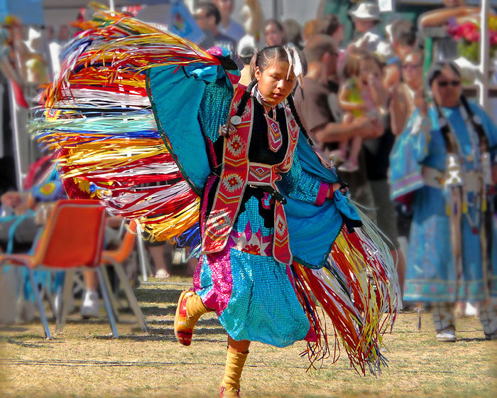 Faancy Shawl Dance