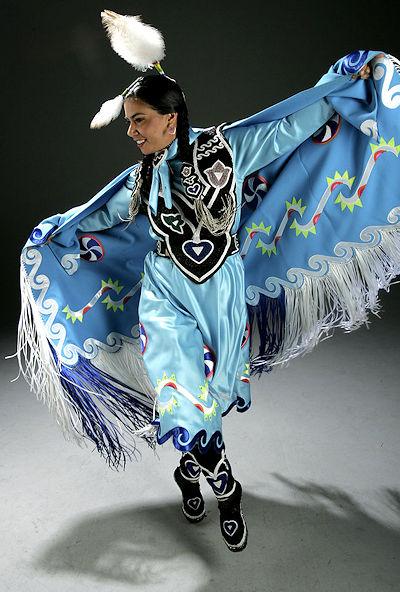 Regalia of the Fancy Shawl Dancer