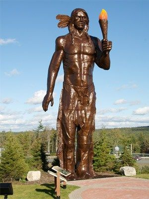 Statue of Glooscap